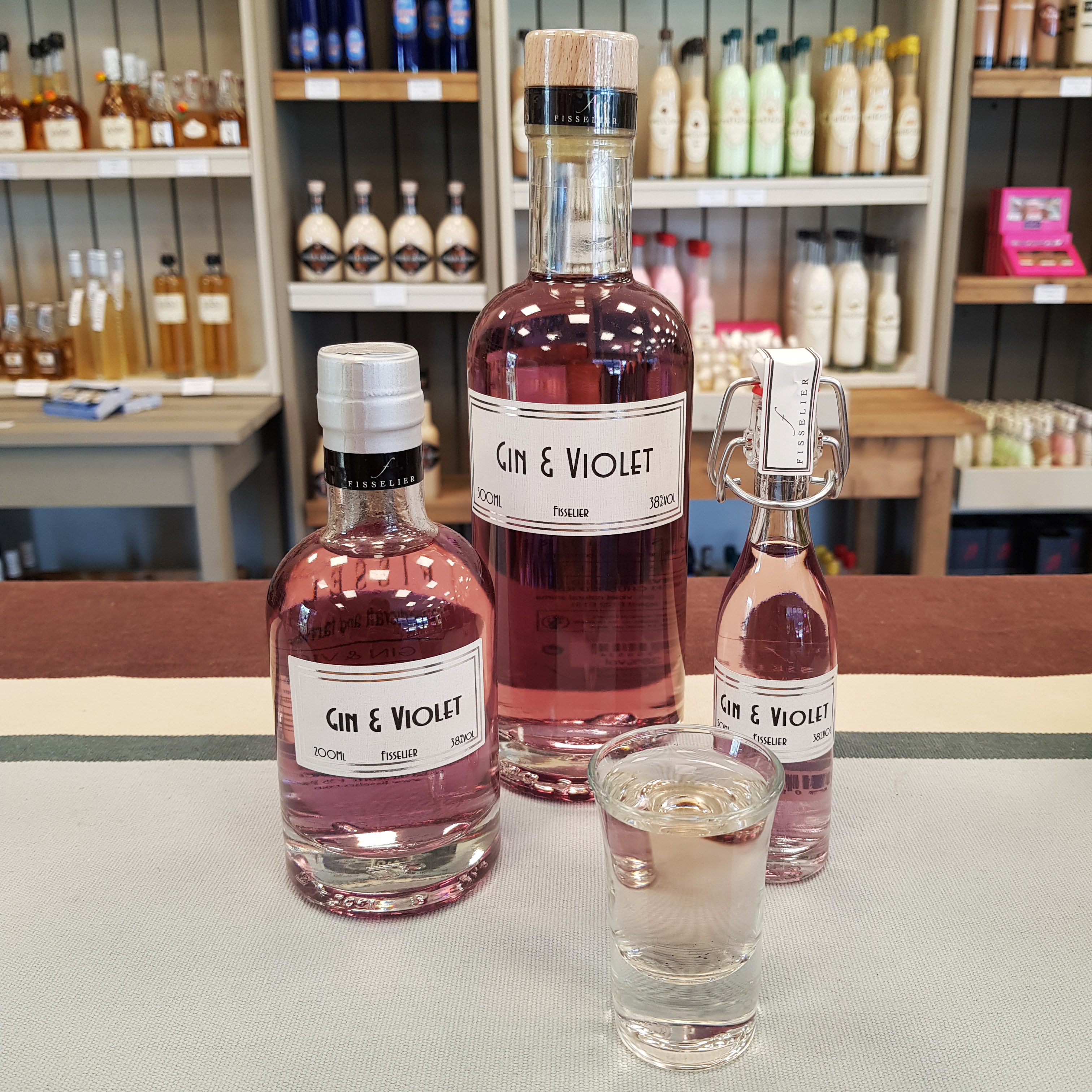 gamme gin violette
